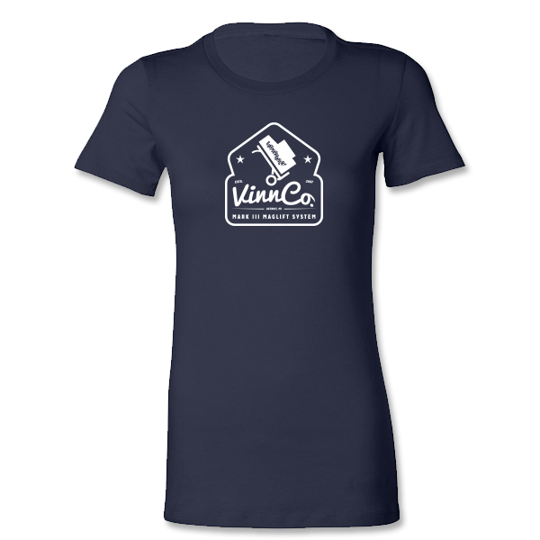 VinnCo Maglift System Women's Shirt - Navy/White