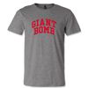 Giant Bomb Collegiate T-Shirt - Athletic Grey