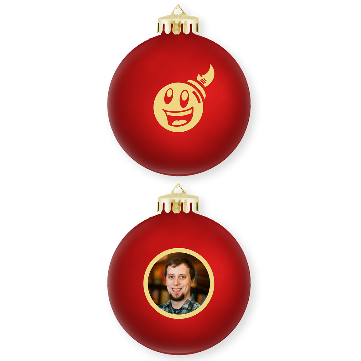 Giant Bomb Ornament