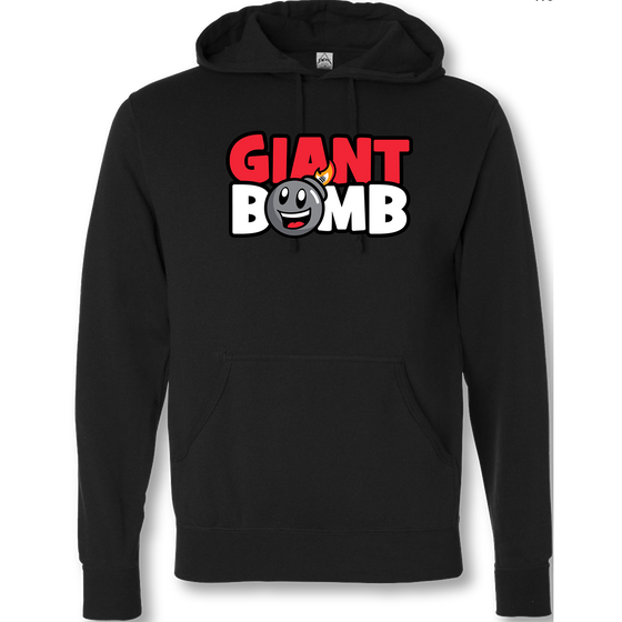 Giant Bomb - New Logo - Hooded Sweatshirt