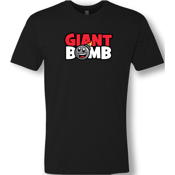 Giant Bomb - New Logo Black T-Shirt