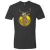 The Luchadeer T-Shirt - Heavy Metal - Print On Demand