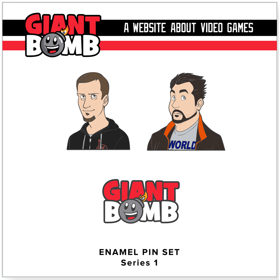 Enamel Pin Set - Series 1