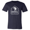 VinnCo Maglift System T-Shirt - Navy/White