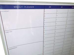 June to June Year Planner | Whiteboard Upgrade
