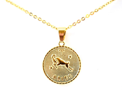 Aries Pendant Necklace