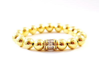 Gold Holiday Bracelet