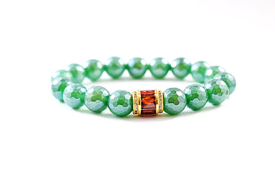 Green and Red Bracelet