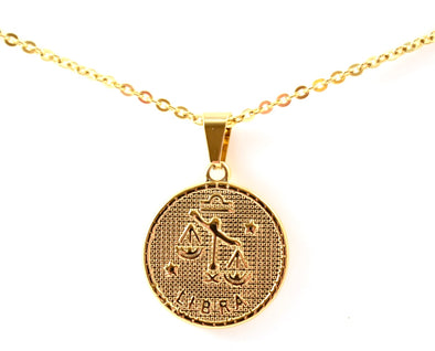 Libra Pendant Necklace