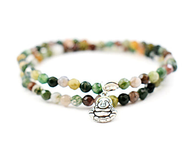 Mini Indian Agate Bracelet