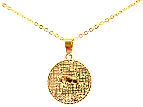 Taurus Pendant Necklace