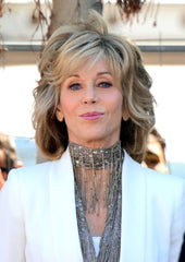 Jane fonda militante FIRE DRILL FRIDAYS climate can't wait !