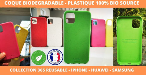 coque iphone compostable