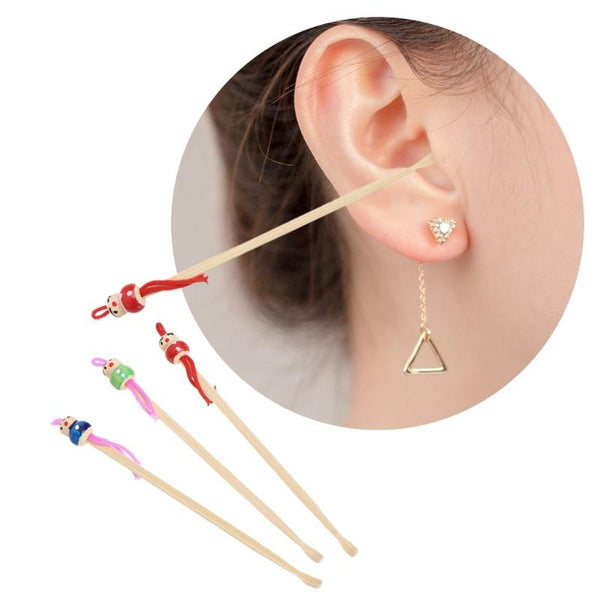 10 cure oreille en bambou oriculi-365 REUSABLE