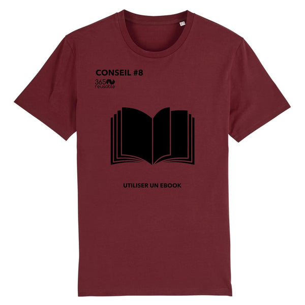 Tshirt unisex #8 UTILISER UN EBOOK-365 REUSABLE