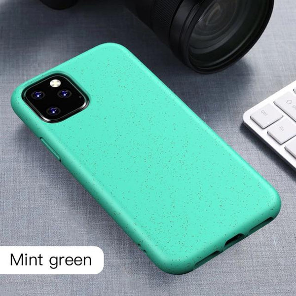 Coque biodégradable Iphone 11 - paille de blé-365 REUSABLE