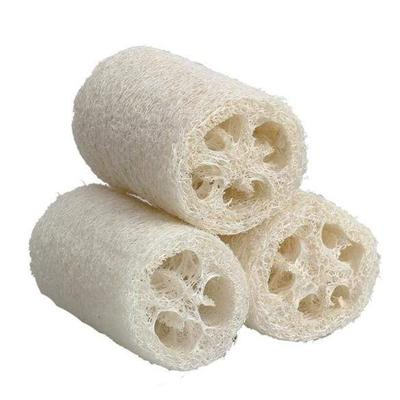 Lot de 3 éponges Luffa exfoliantes