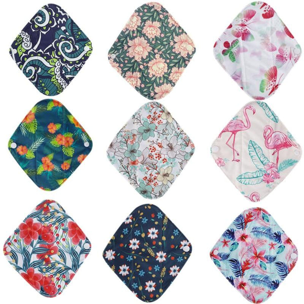 Serviette hygiénique lavable - lot de 10-365 REUSABLE