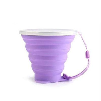 Tasse en silicone pliable et rétractable 250 ml - 365 reusable