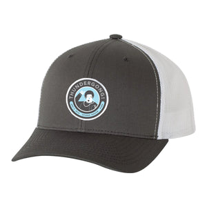 charcoal and white vance thundergong! hat