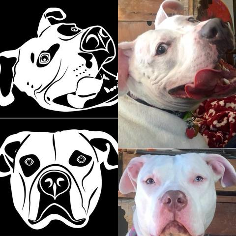 Custom Car Decal of Your Pet -  - office-posters-and-frames