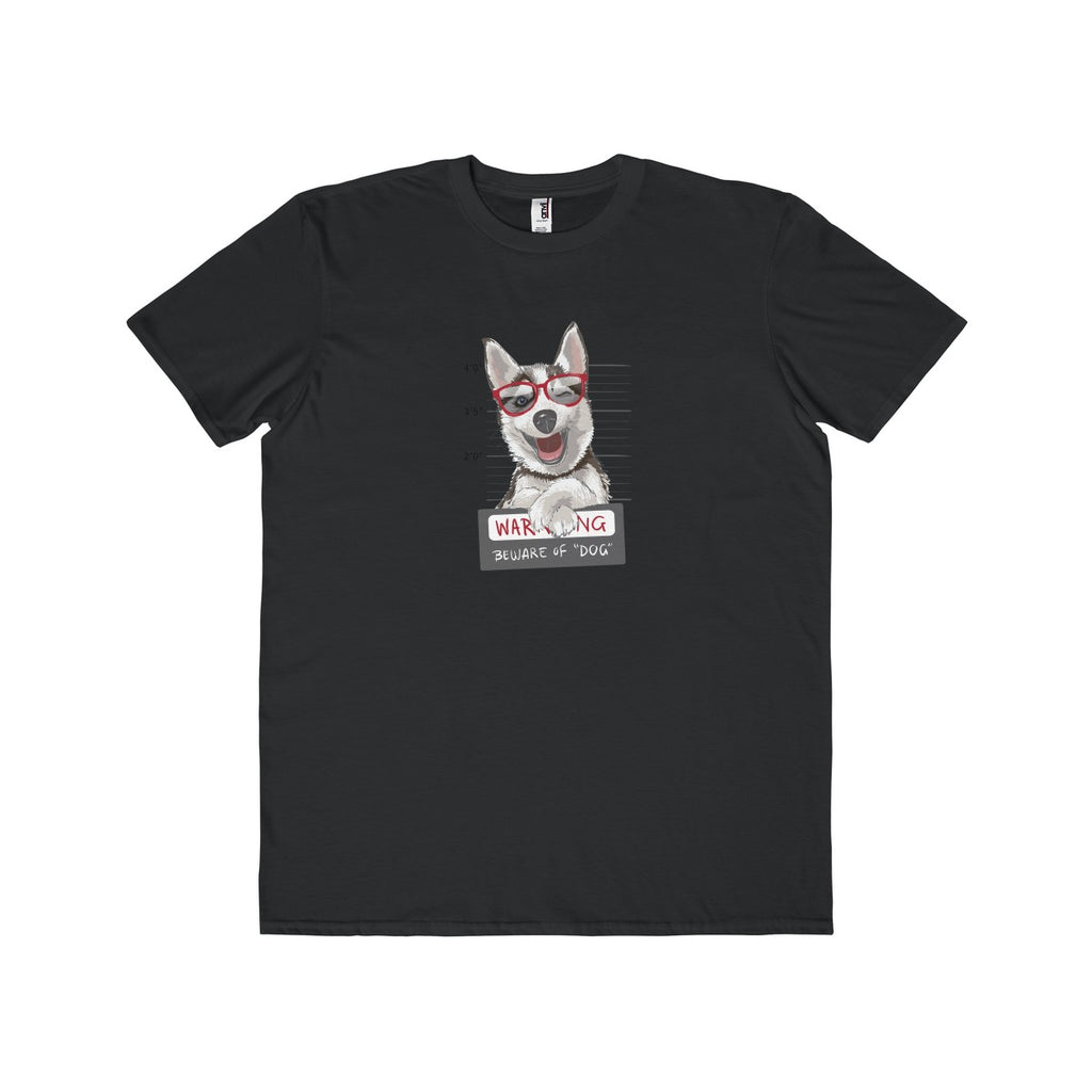 Cool Husky's mug shot t-shirt for men - T-Shirt - office-posters-and-frames