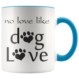 No love like Dog love - Coffee Mug - Drinkware - office-posters-and-frames