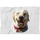 Photo art blanket for dogs