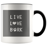 Live Love Bark - Coffee Mug - Drinkware - office-posters-and-frames