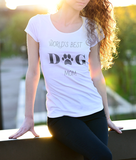 World's Best Dog Mom t-shirt - T-shirt - office-posters-and-frames