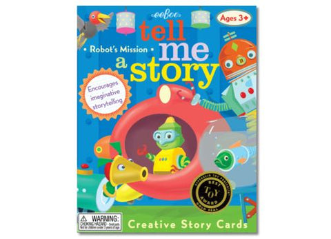 Create a Story Robots Mission