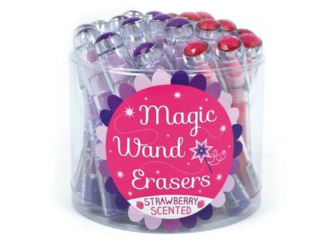 Magic Wand Scented Erasers
