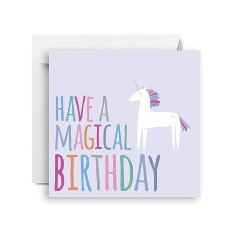 Magical Birthday Small Card