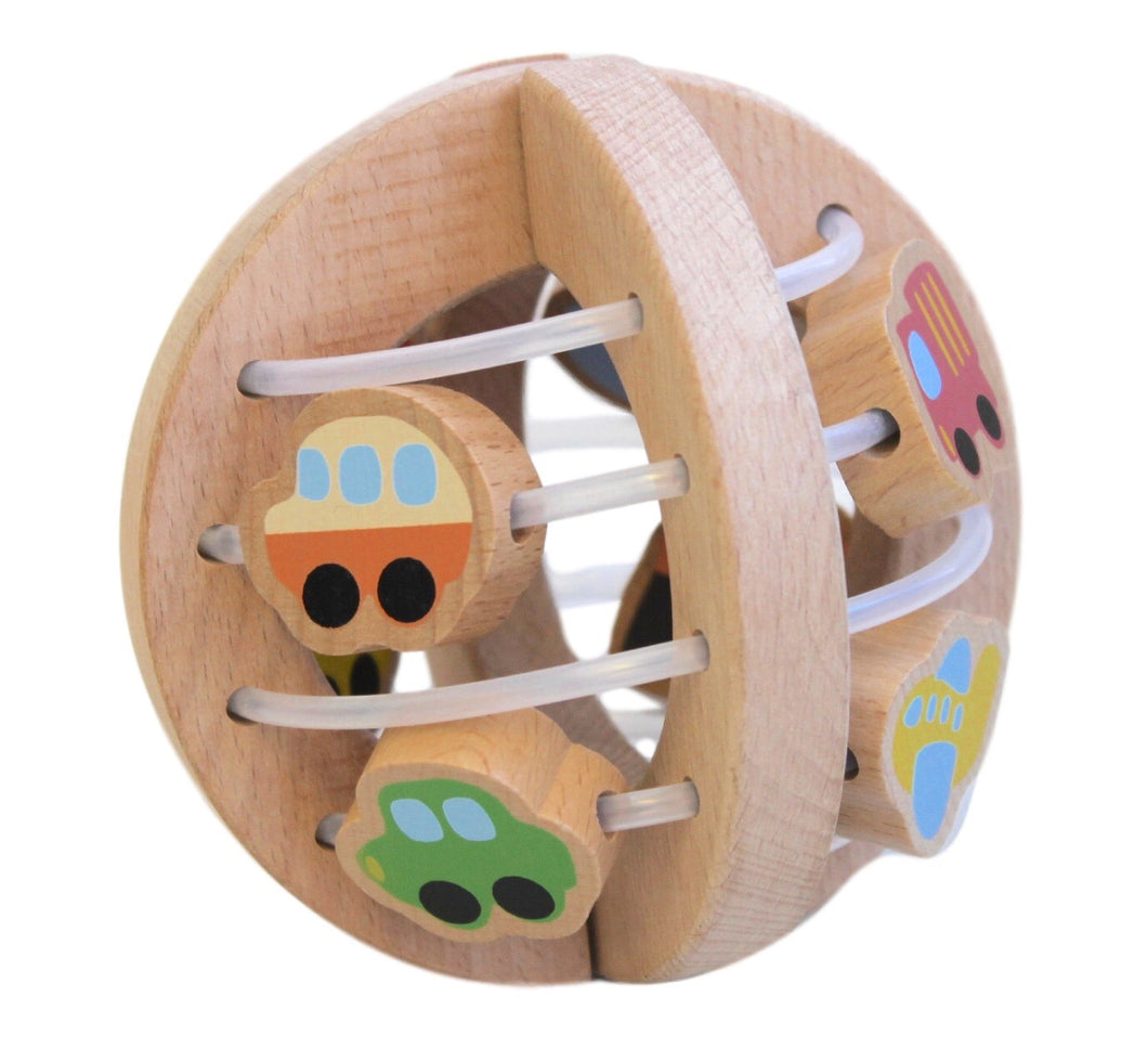Discoveroo Wooden Play Ball Traffic