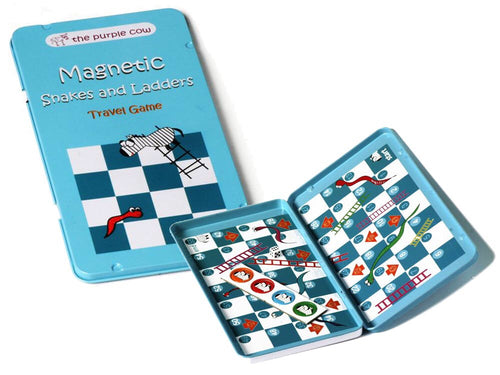 Magnetic Snakes and Ladders - Travel Tin