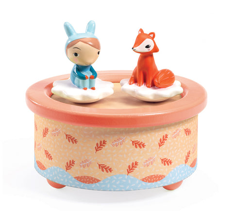 Djeco Music Box - Magnetic Fox Melody