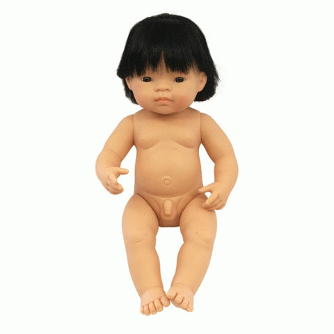 Miniland Asian Baby Boy 38cm Doll
