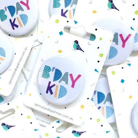 Birthday Kid Badge