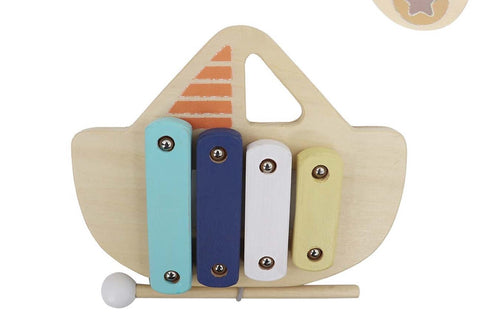 Wooden Xylophone Boat