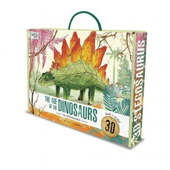 3D Age of the Dinosaurs Book+ Model Stegosaurus