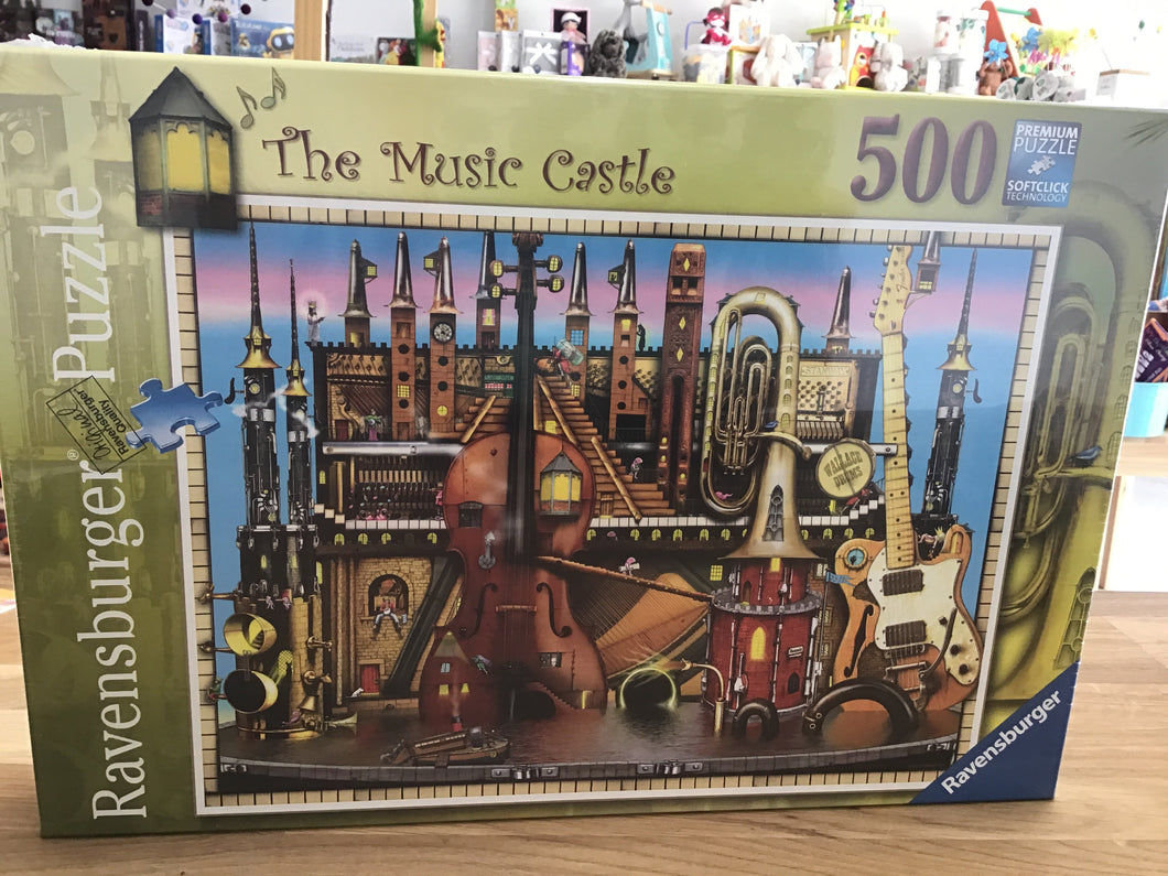 The Music Castle 500pc Puzzle
