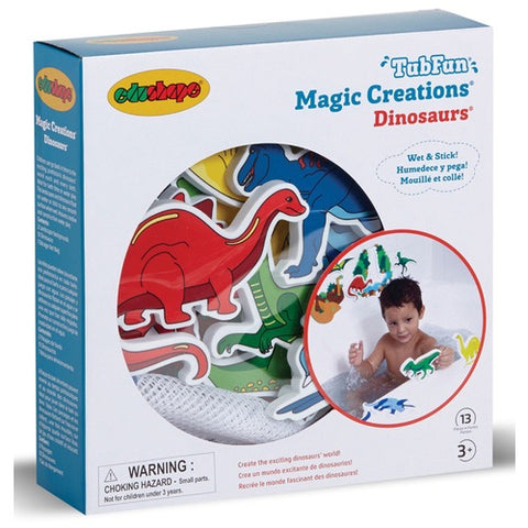 Tub Fun Magic Creations Dinosaurs