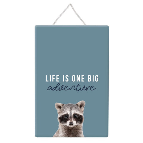 Baby Adventure Hanging Sign