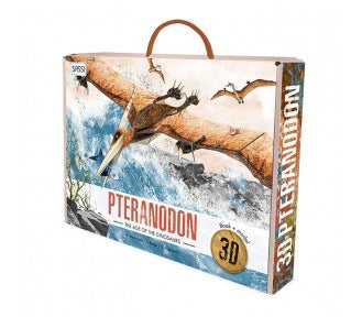 3D Age of the Dinosaurs Book+ Model Pteranodon
