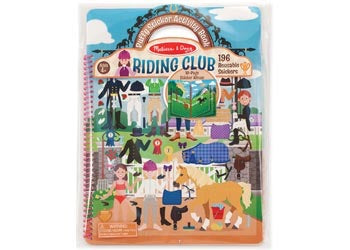 Puffy Sticker Riding Club
