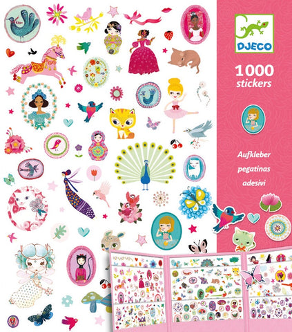1000 Stickers Just for Girls