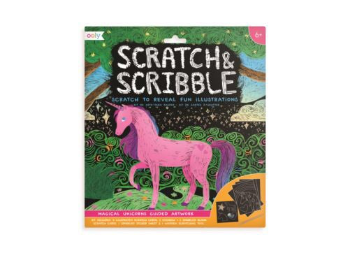 Scratch and Scribble Unicorns