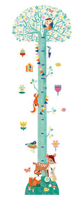 Blossoming Tree Height Wall Sticker