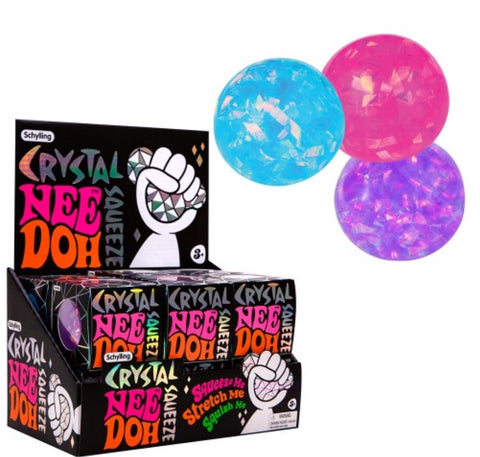 Nee Doh- Crystal Stress Ball
