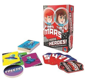 Mars Needs Heroes - Card Game